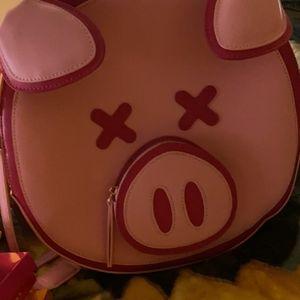 Jeffree star pig backpack